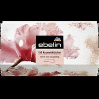 Сухие салфекти в коробке Ebelin 2 слоя, 150 шт