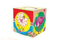 Сухие салфекти в коробке Ebelin страус 2 слоя, 100 шт
