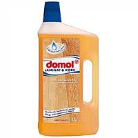 Средство для чистки ламината и пробки Domol, 1000 мл