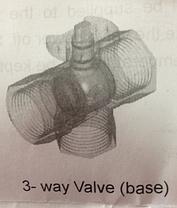Триходовий клапан з електроприводом BV03 220 В, фото 2