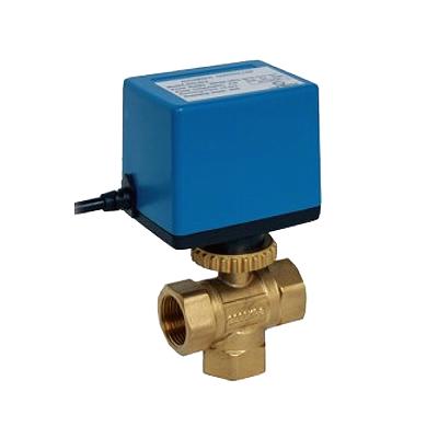Триходовий клапан з електроприводом BV03 220 В