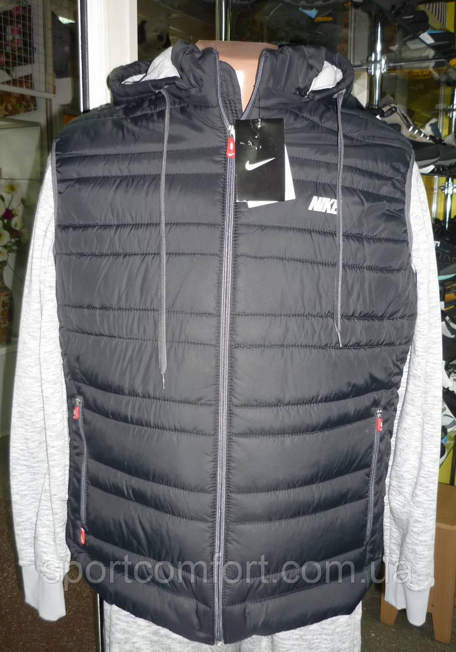 57dda741 Жилетка Nike мужская черная ссерым 16, цена 650 грн., купить в Сумах ...