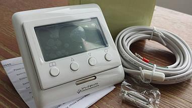 Терморегулятор  теплых полов (два датчика)пол +воздух