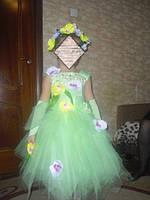 Детское нарядное платье Весна, Фея цветов - прокат Киев, Троещина