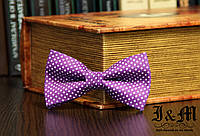 Галстук-бабочка i&m (00029) Purple, фото 1