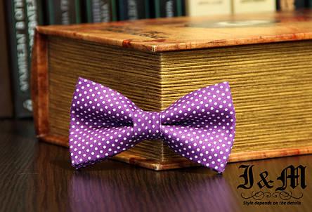 Галстук-бабочка i&m (00029) Purple, фото 2