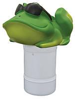 """Плавающий дозатор химии маленький игрушка Жаба из серии """"Крутяшки""""  K728BU/FRO/6P"""