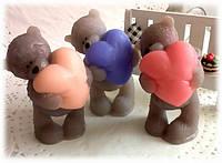 """Мыло """"Мишка Тедди с сердцем"""""""
