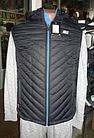 Жилетка Nike мужская черная с синим 16