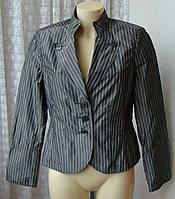 Пиджак женский легкий жакет плащевая ткань бренд Christian Berg р.46-48 5490