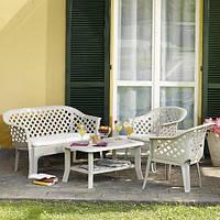 Комплект пластиковой мебели Veranda Set Bianco