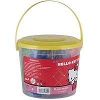 Пластилин мягкий Kite Hello Kitty Ведерко 7 цветов 500 г (HK13-089K)
