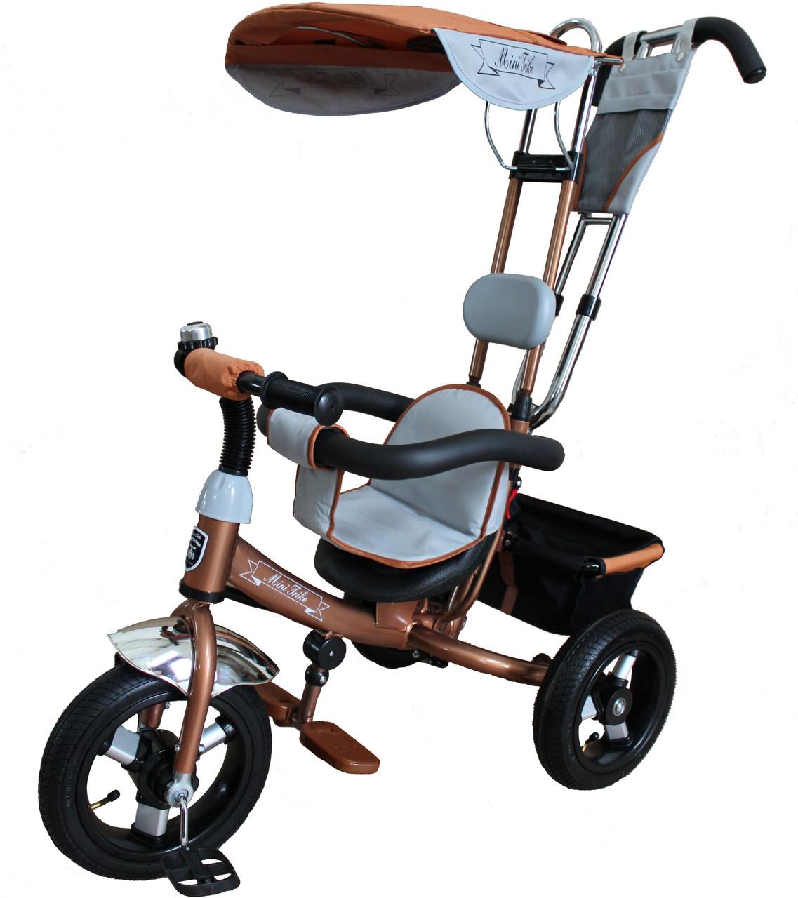 Детский велосипед трехколесный Mars Mini Trike LT950 air шоколад