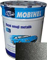 """628 Автоэмаль базовая """"металлик"""" Helios Mobihel """"Нептун"""", 1л"""