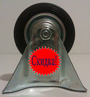 Колеса-ролики на станине, резина, 8,5 см, Польша!, фото 1