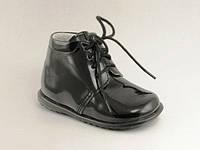 Праздничные детские лаковые туфли 18 размер/Святкові дитячі лакові туфлі 18 розмір ТМ Эмель (Польша)