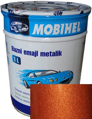 """795 Автоэмаль базовая """"металлик"""" Helios Mobihel """"Пиран"""", 1л"""