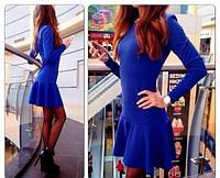 Женское Красивое платье Волна