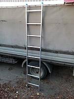 Приставная алюминиевая лестница Tubesca 1х8, Франция