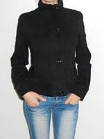 Куртка-пиджак женская коттоновая черная Holdluck 1180 размер S, M, L, XL, XXL