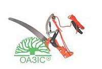 Сучкорез комбинированный металлический со съёмной пилой, Оазис (С809)
