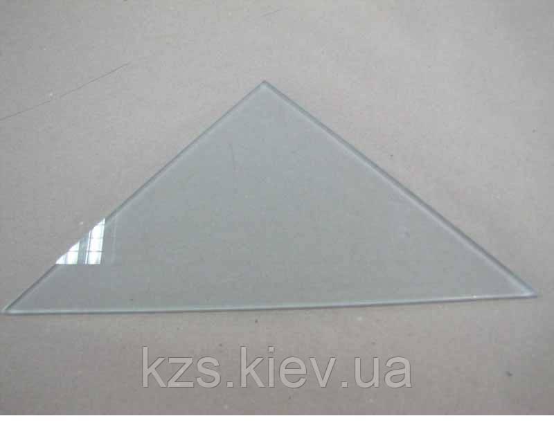 Полка треугольная из матового стекла толщиной 8 мм. 400х400 мм