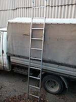 Приставная алюминиевая лестница Tubesca 1х10, Франция