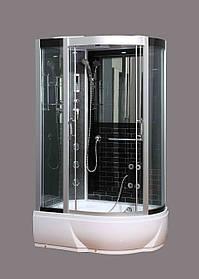 Гидромассажный бокс BADICO SAN 388L B левосторонний 120x80x215 с средним поддоном