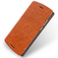 Чехол книжка MOFI Rui Series для Lenovo A7010 Vibe X3 Lite коричневый