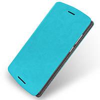 Чехол книжка MOFI Rui Series для Lenovo A7010 Vibe X3 Lite голубой