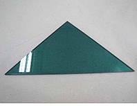 Полка треугольная из крашенного стекла толщиной 6 мм 350х350 мм