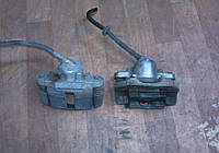 Суппорт левый ВАЗ 2108 2109 21099 2113 2114 2115 цилиндр тормозной бу, фото 1