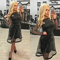 """Эксклюзивное женское платье для модниц """"Кристалл"""" 42-60р"""