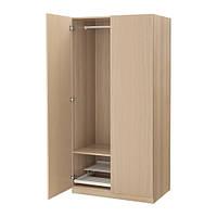 """IKEA """"ПАКС"""" Шкаф платяной,  под беленый дуб, НЕКСУС  под беленый дуб, 100x60x201 см"""