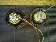 Электродвигатель печки с крыльчатками ВАЗ 2108 2109 21099 2110 2111 2112 2113 2114 2115 мотор моторчик двигатель бу