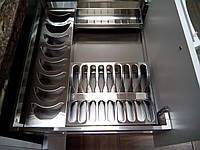 Сушка для посуды выдвижная  с доводчиком