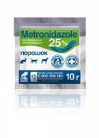 Метронидазол 25% порошок 10 г