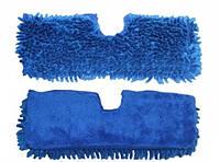 Запаска из микрофибры двухсторонняя 37*15см на липучке AMA 0075A