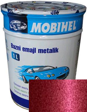"""129 Автоэмаль базовая """"металлик"""" Helios Mobihel """"Виктория"""", 1л"""