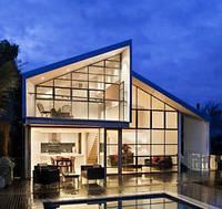 Алюминиевые окна для остекления коттеджей