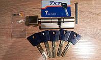 Mul-t-lock 7X7 90мм(40х50) ключ/тумблер никель