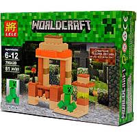 """Конструктор Lele Minecraft 79042D """"Крипер"""", 81 дет, фото 1"""