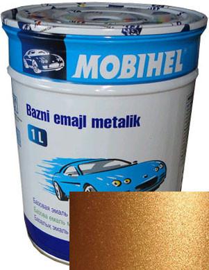 """277 Автоэмаль базовая """"металлик"""" Helios Mobihel """"Антилопа"""", 1л"""