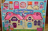 Игровой набор домик Свинки Пеппы с мебелью 593