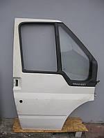 Дверь передняя правая комплектная б/у на Ford Transit год 2000-2006 (голая)