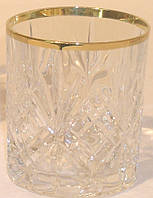 Набор стаканов для виски Melodia с золотом