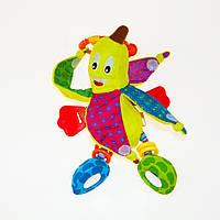 Вибрирующая игрушка-подвеска Biba Toys ЗАБАВНЫЙ БАНАНЧИК