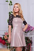 Платье женское Бонита бежевое