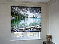 Рулонные шторы с фотопечатью залив