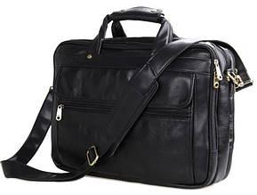 """Кожаный портфель для ноутбука 15,6"""" S.J.D. 7146A"""